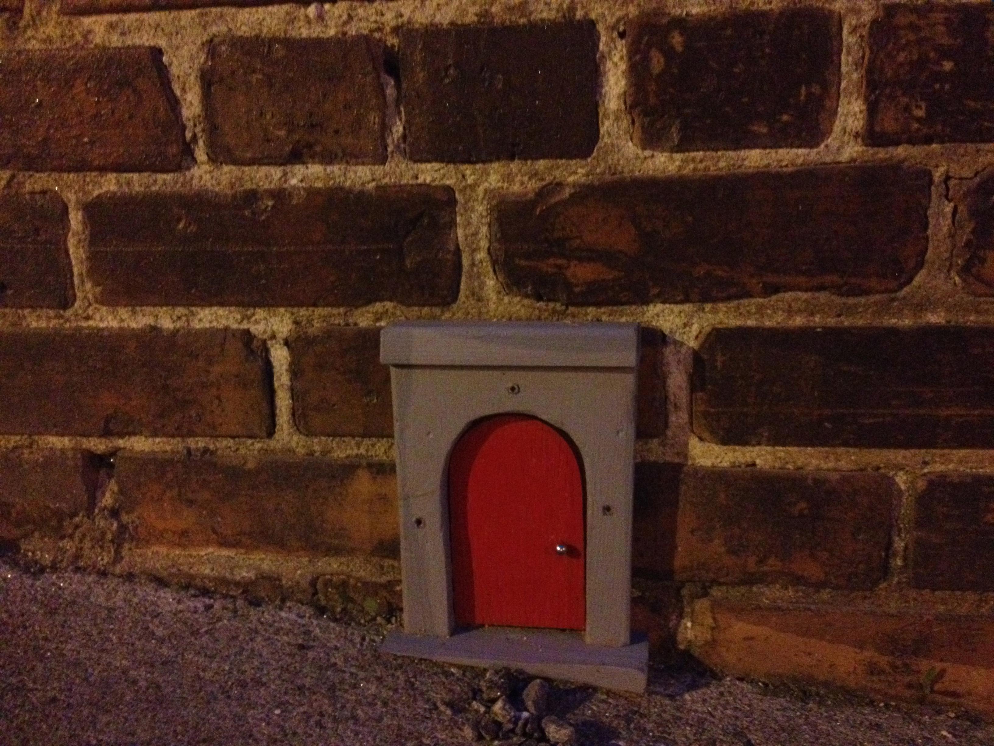The Cartoon Door Asheville North Carolina & A Tiny Door | Thomas Zuber Fine Art